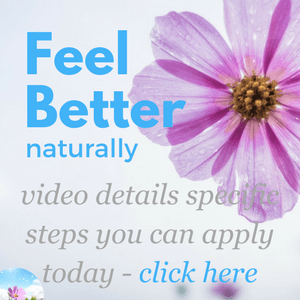 Feel Better Naturally - Free Video Guide