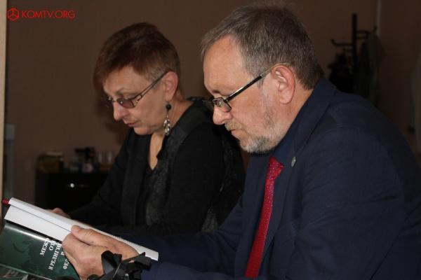 Кандидат политических наук Наталья Киселева и кандидат философских наук Сергей Киселев
