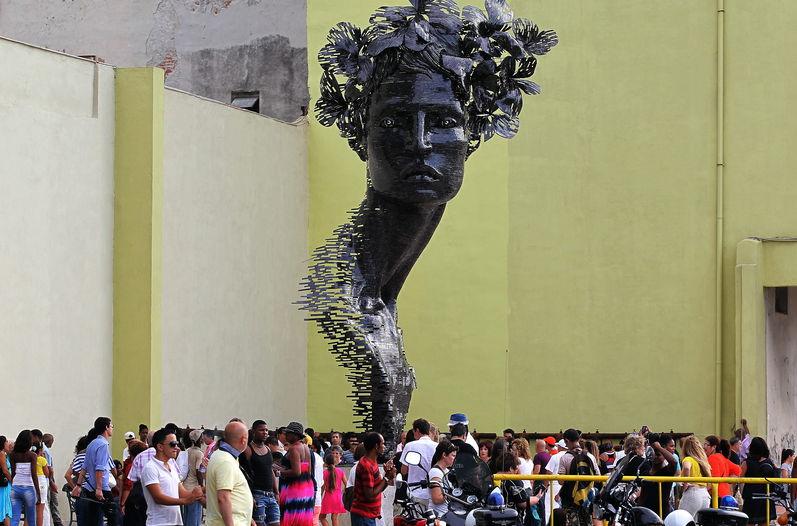 Havana fervilhando arte