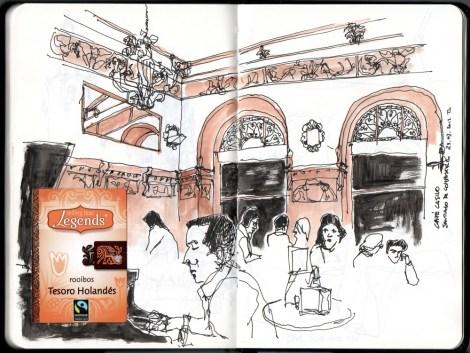 Café Casino, Santiago de Compostela