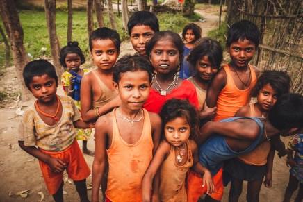 ragazzini a janakpur