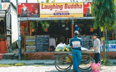 Breakfast at the Laughing Buddha
