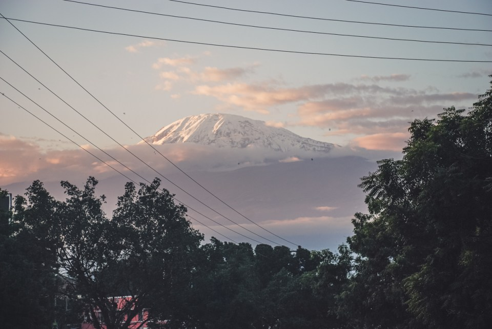 kilimanjaro viewd from moshi