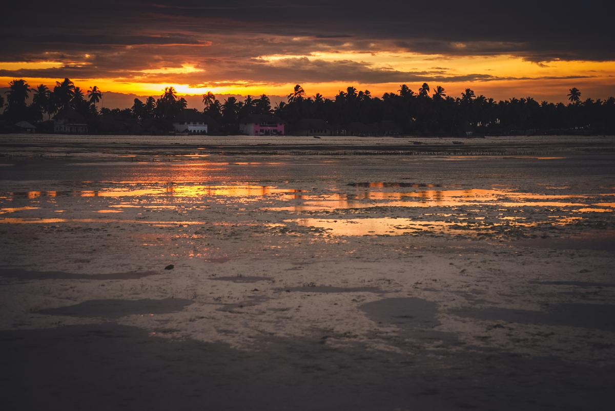 tramonto a jambiani