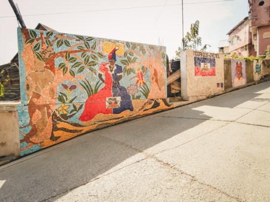 murales in Jacmel
