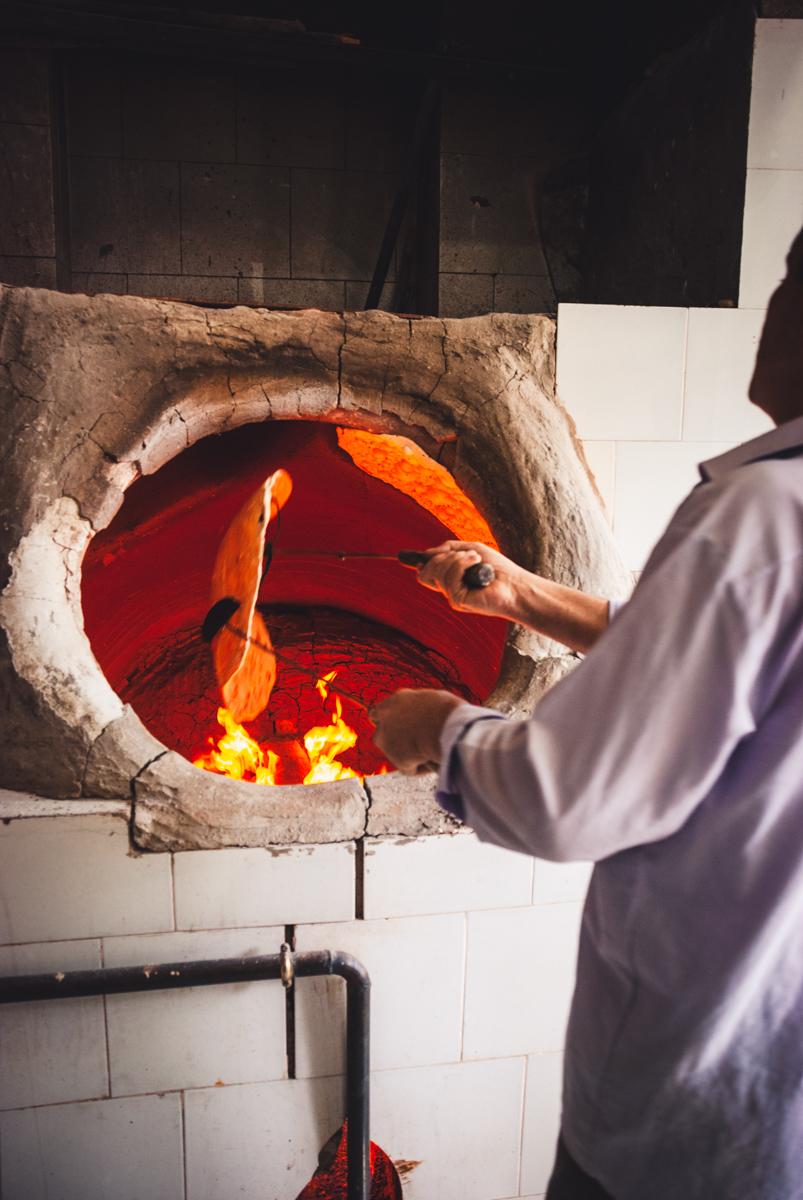 forno per il pane a kashan