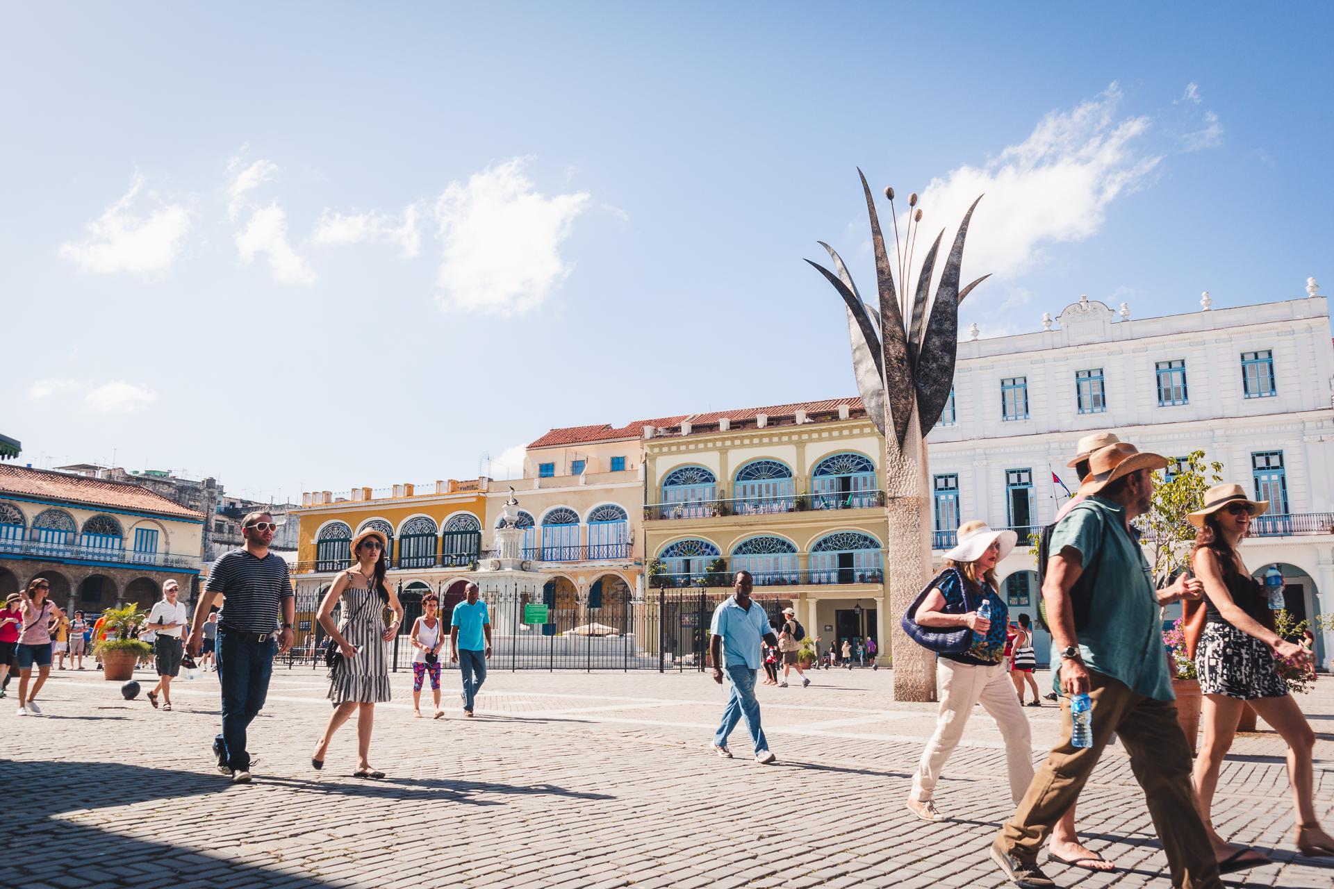 Plaza Vieja in La Havana