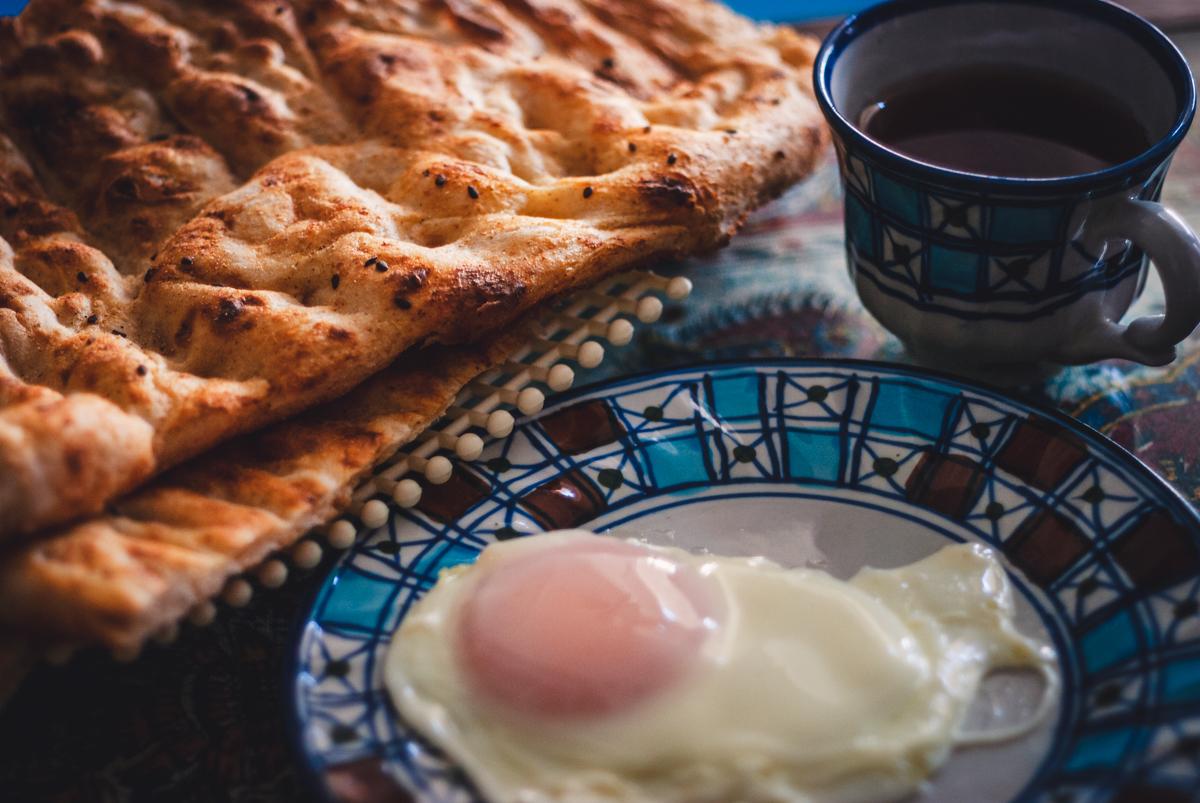 Breakfast in Kashan