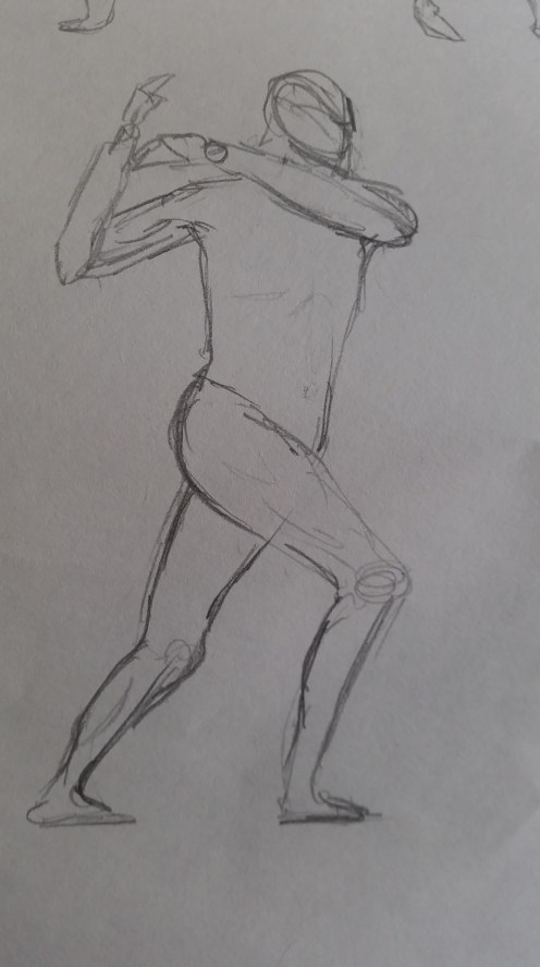 Male Life Drawing (May 26th)