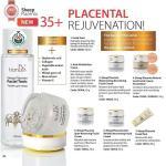 10302 Crema de Cara de Pigmentación de Placenta de Oveja TIANDE 50g, Combate el Enrojecimiento