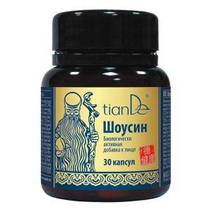 113009 Shousin - Suplemento Dietético para el Hombre, tianDe, 30 Cápsulas x0.43 g, Micelio de Cordyceps