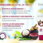 """14904 TianDe, Crema de Protección Multifuncional para la Cara  """"Mangostán"""", 50g"""