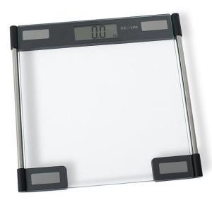 Báscula Personal Digital, ELDOM GWO210, Hasta 150kg, Plataforma de cristal de seguridad