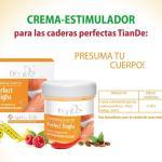 35412-01 Crema Estimulante Que Mejora el Muslo. TianDe , 120g, las Formas Perfectas Son de Moda