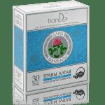 123915 Fitotea vascular con trébol, tianDe, 30 paquetes de filtro x 2 g, Ritmo cardíaco saludable