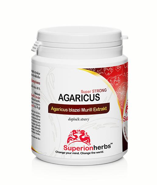 Agaricus | Mediciální houby