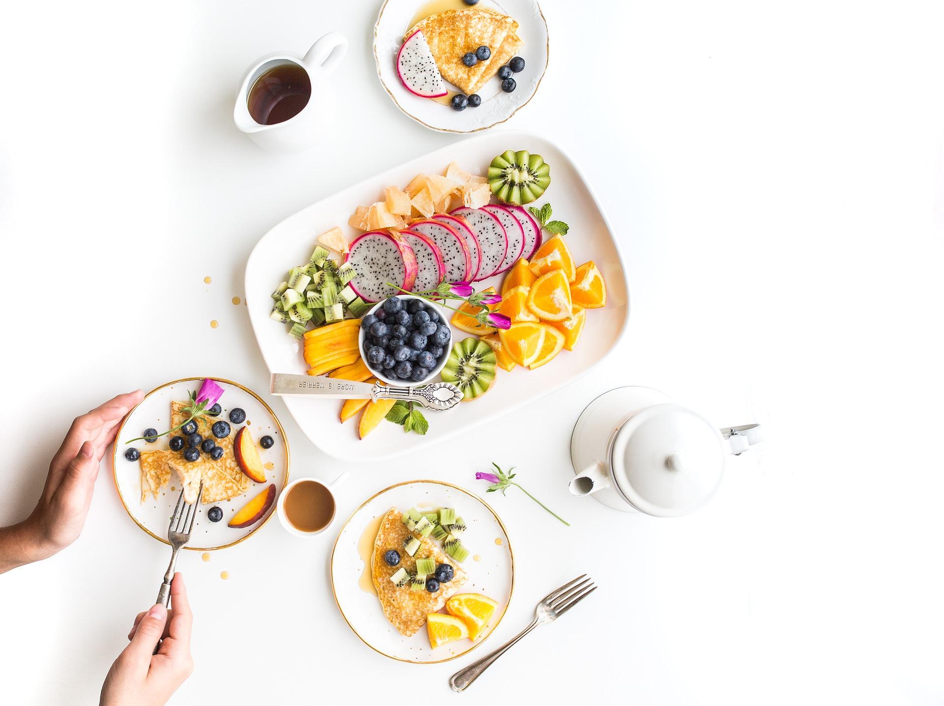 Zdravé snídaně a svačinky