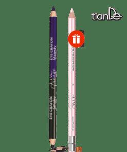 Двустранен молив за очи + подарък Молив за очи и устни