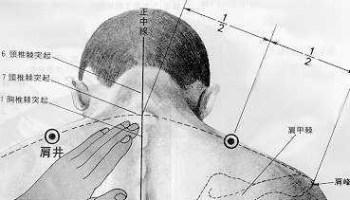Puits de l'épaule, 肩井 jīan jǐng, est le vingt-et-unième point du méridien de la vésicule biliaire.