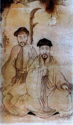 Portrait de Chen Wang Ting et Jiang Fa