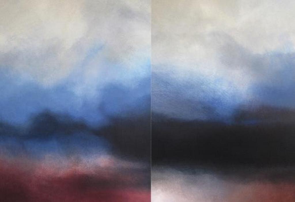 Densités - peintures - Pascale Montandon -Jodorowsky - Galerie Forêt verte 2015