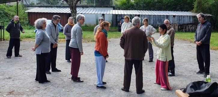 Formation au qi gong, école Nuage-Pluie, séminaire été 2019 -07