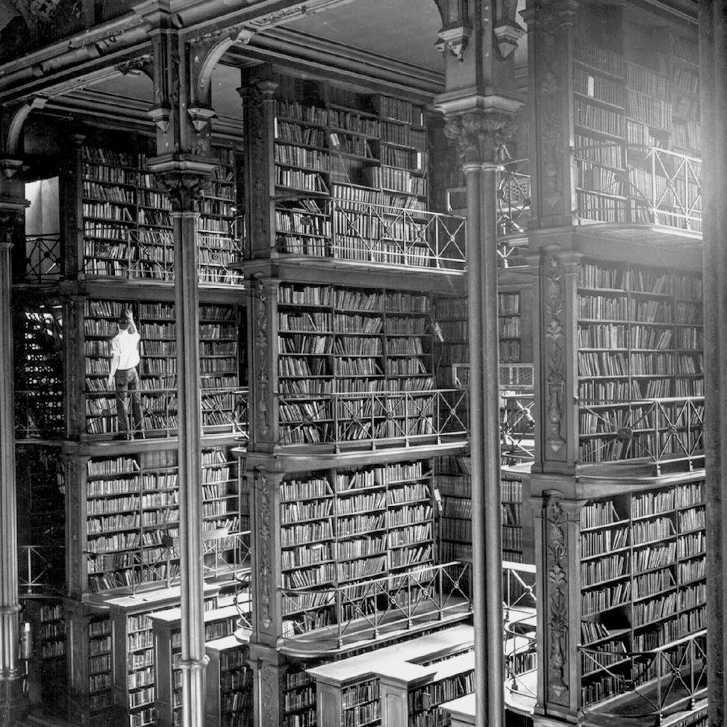 La vieille bibliothèque principale de Cincinnati