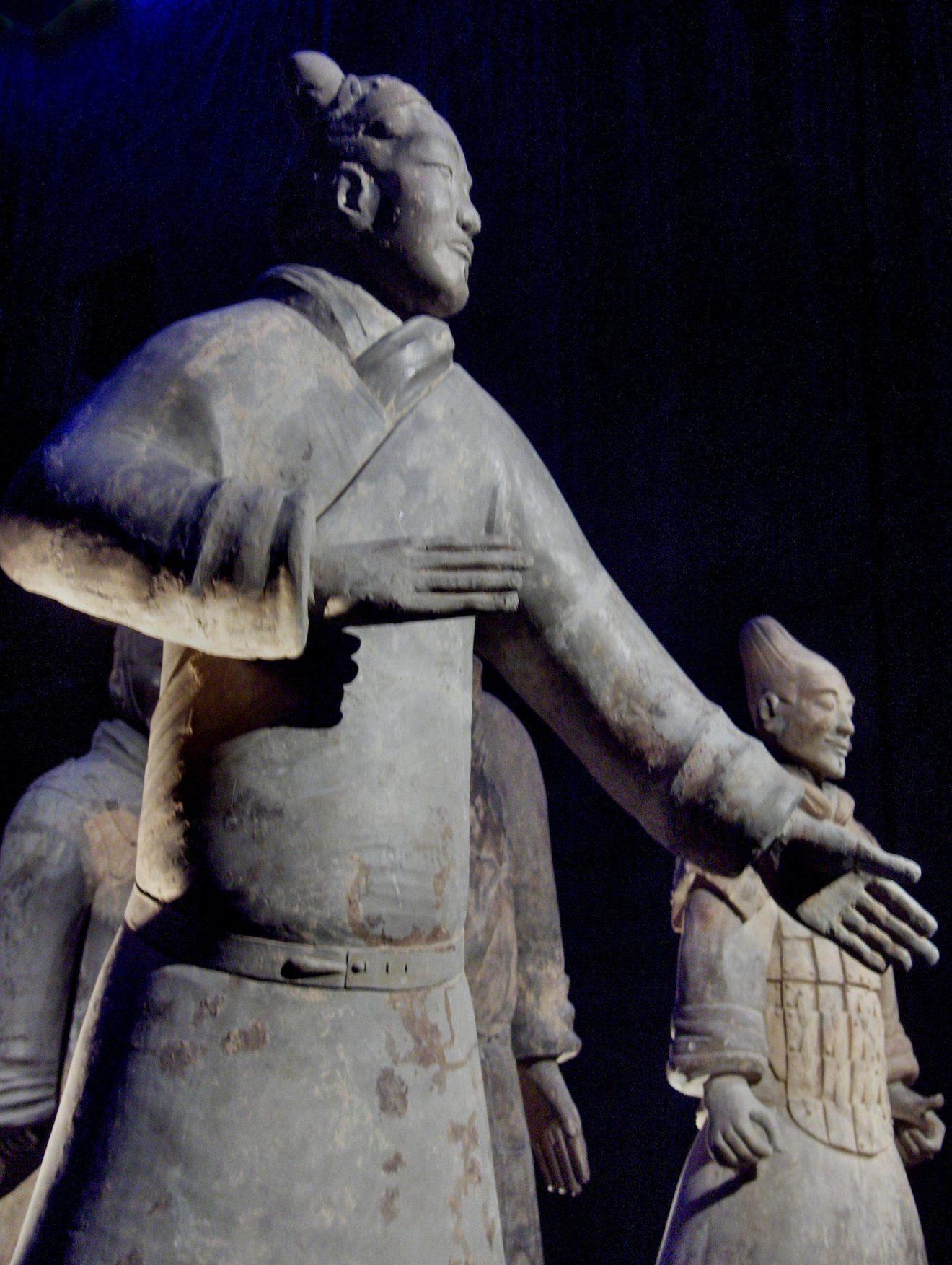 Soldat de terre cuite du tombeau de Qin Shi Huang