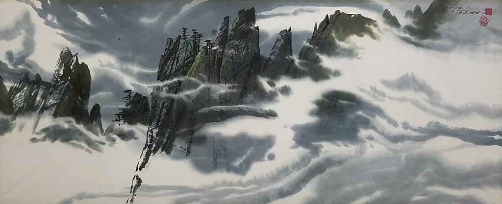Mt. Kumgang, 1998, Jong Yong Man
