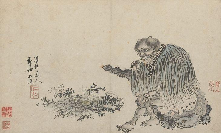 Shennong, 1503, encre et couleurs sur papier, Guo Xu (1456–1529)