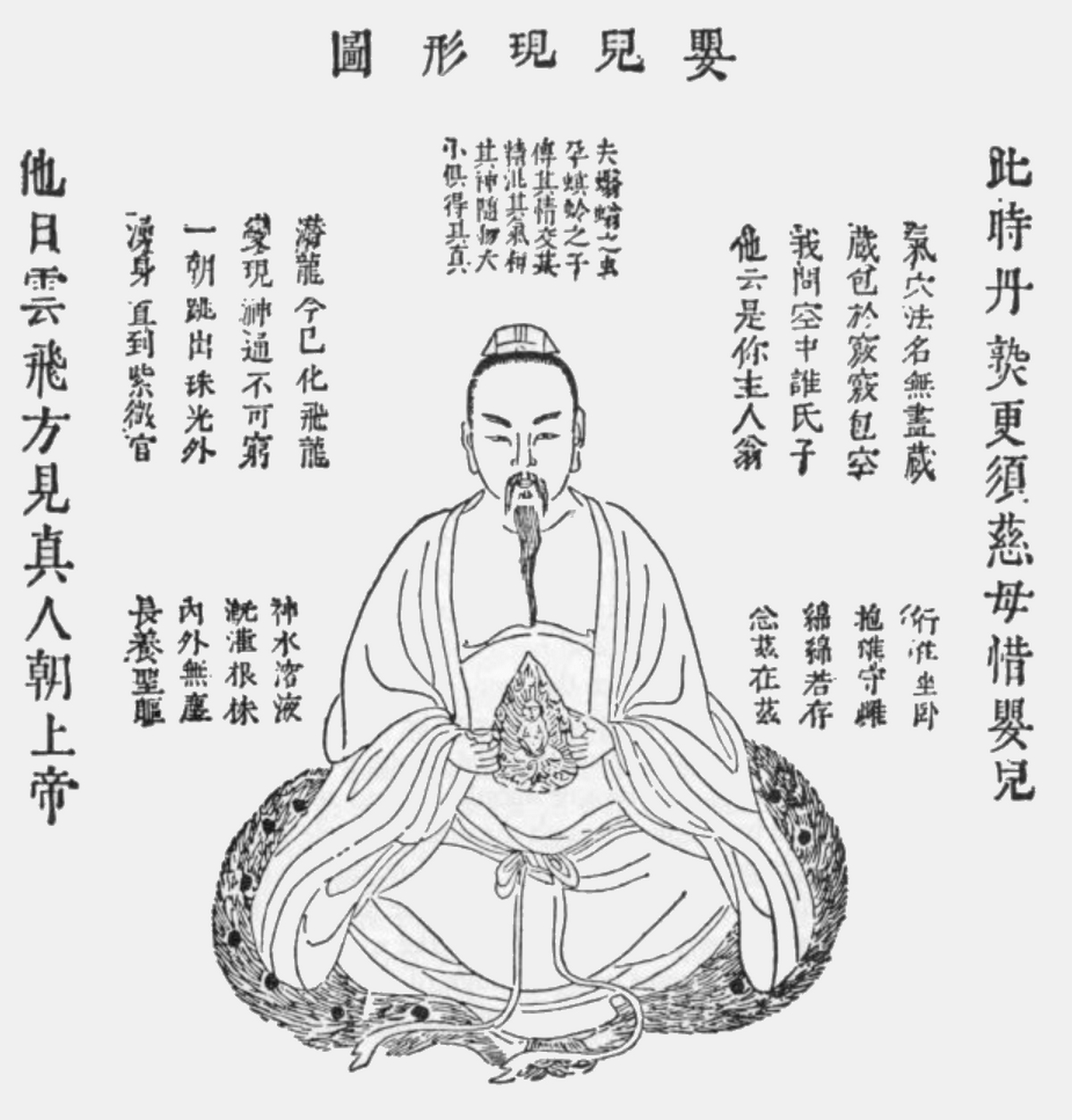 Deuxième stade de la méditation, Le secret de la fleur d'or