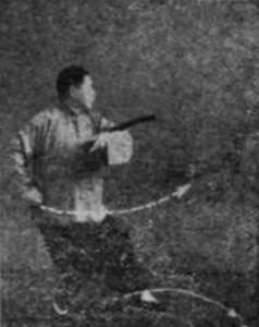 Sabre du taijiquan de style Yang selon Fu Zhongwen