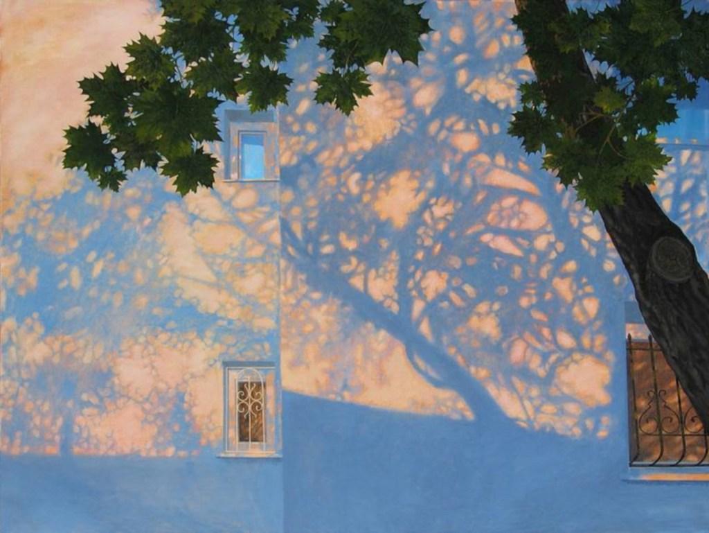 Ombres, huile sur toile, Olga Kvasha