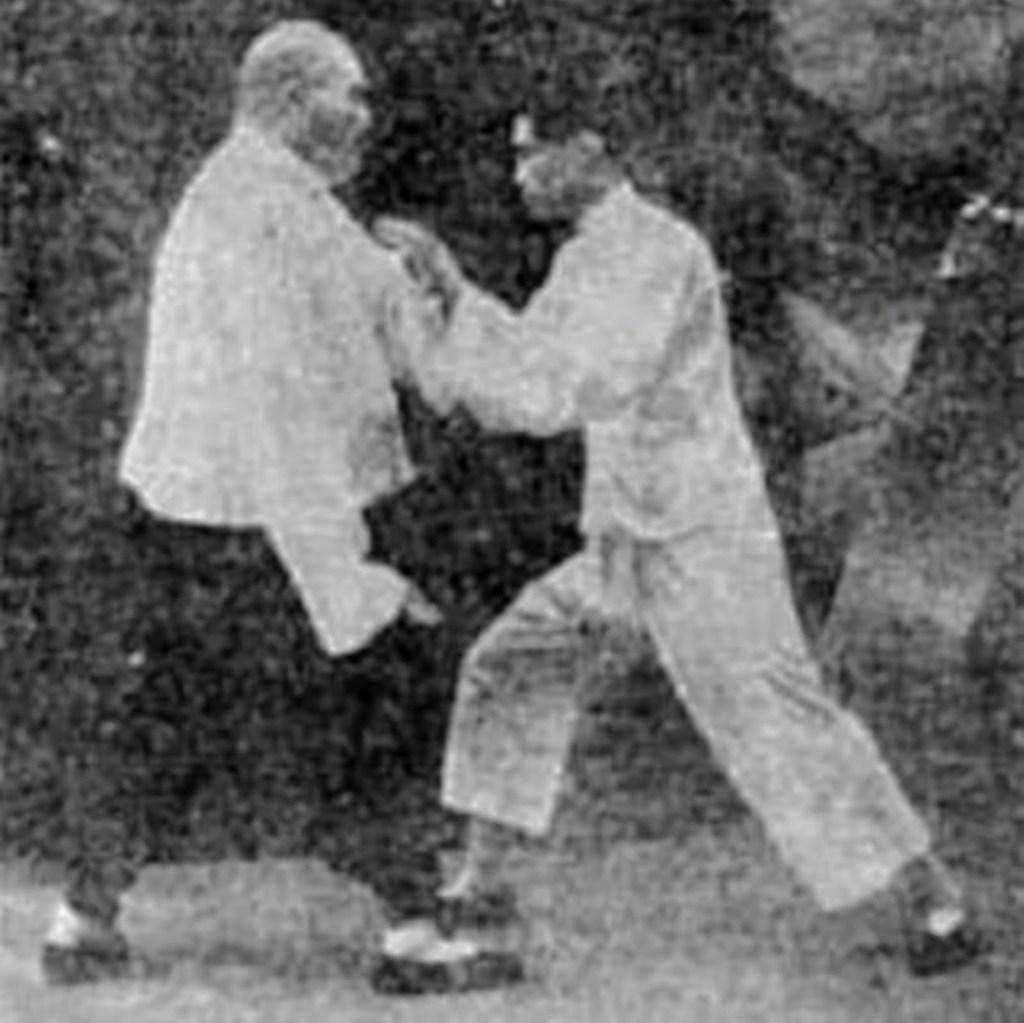 Yang Chengfu et son fils aîné Yang Shouzhong