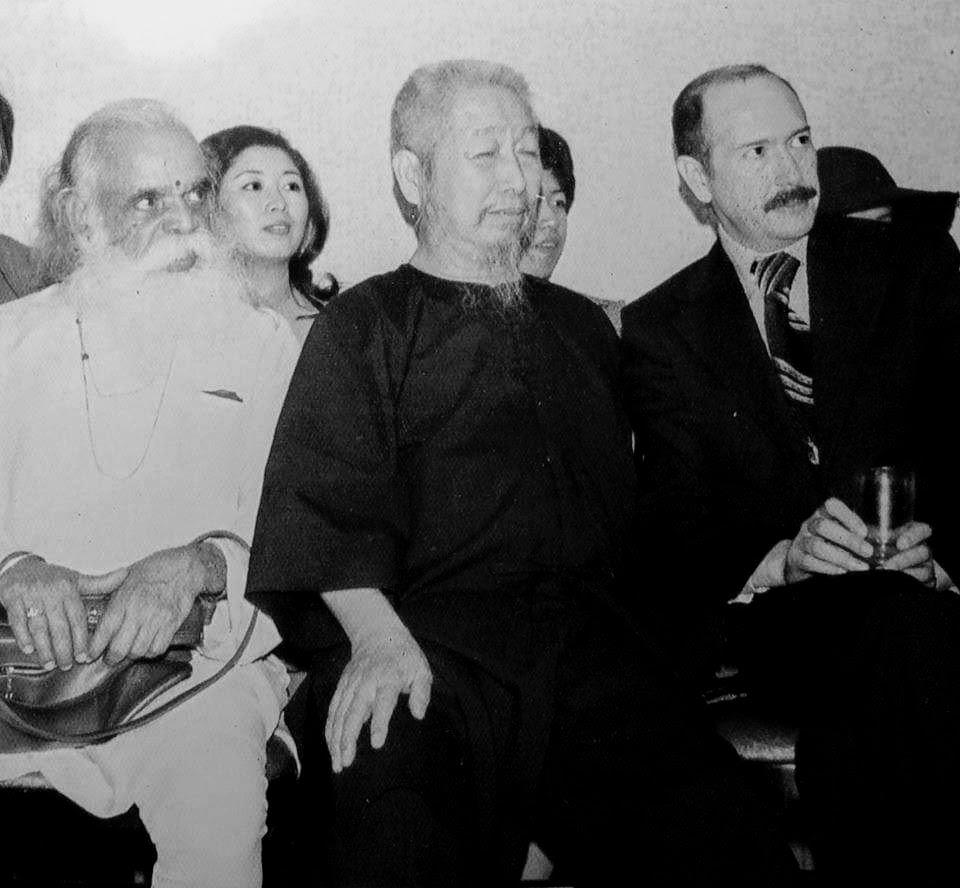 Cheng Man Ching et Swami Bua