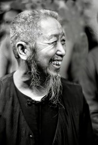 Cheng Man Ching, photographie de Ken Van Sickle