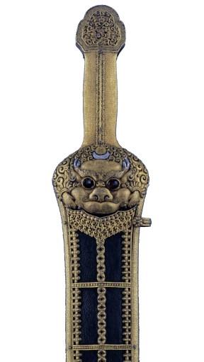 Épée et fourreau, époque Ming