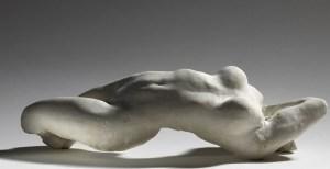 Torse d'Adèle, plâtre, 1884, Auguste Rodin