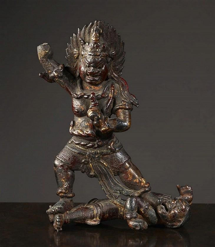 Vajrapani, Chine, Royaume de Dali, XIII° siècle