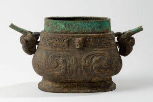 Vase you 卣, bronze, fonte au moule, entre -1050 et -771
