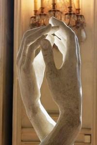 La Cathédrale, Auguste Rodin