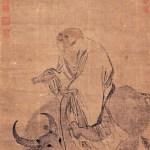 Laotzi voyageant vers l'ouest