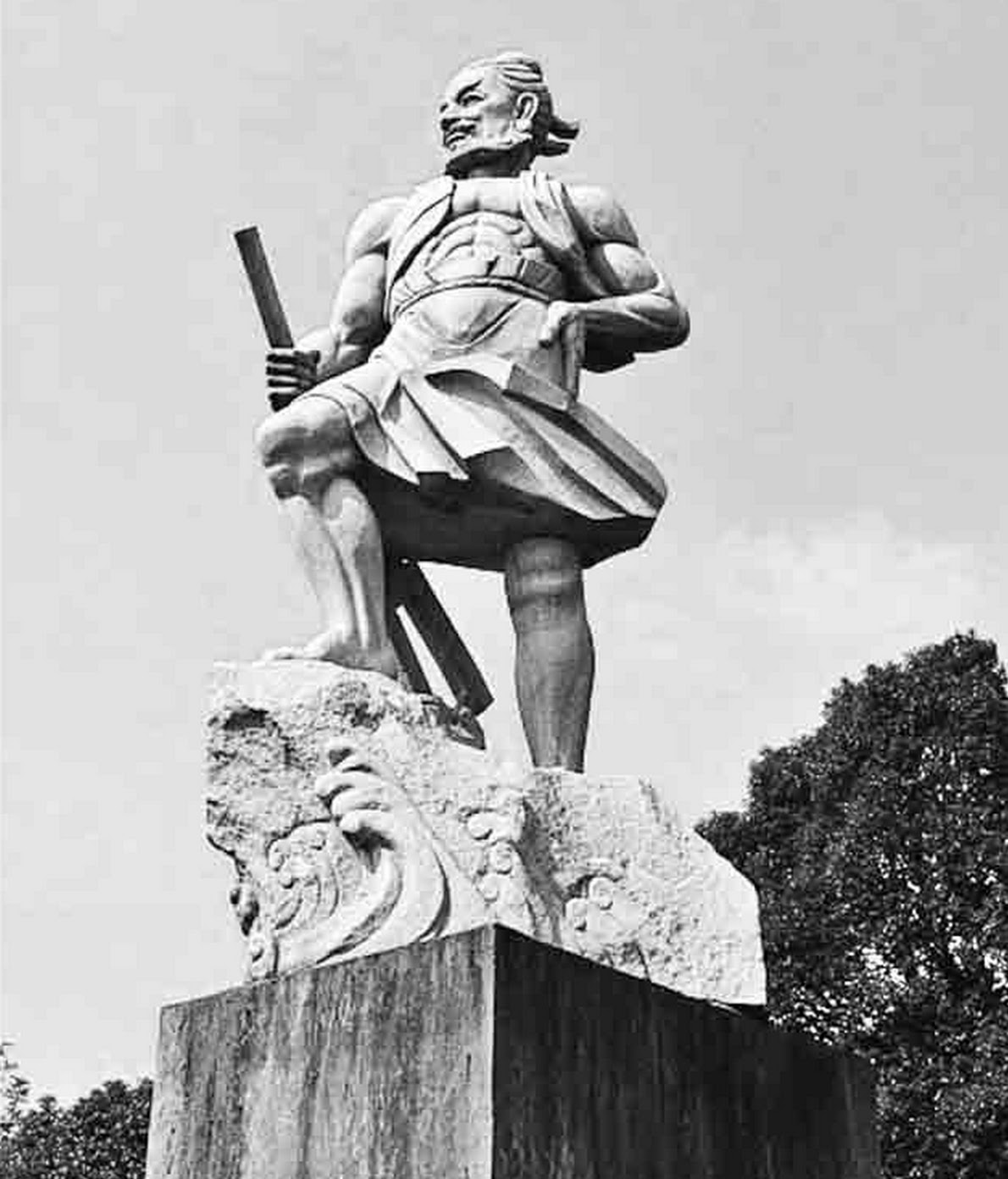 Statue de Yu le Grand
