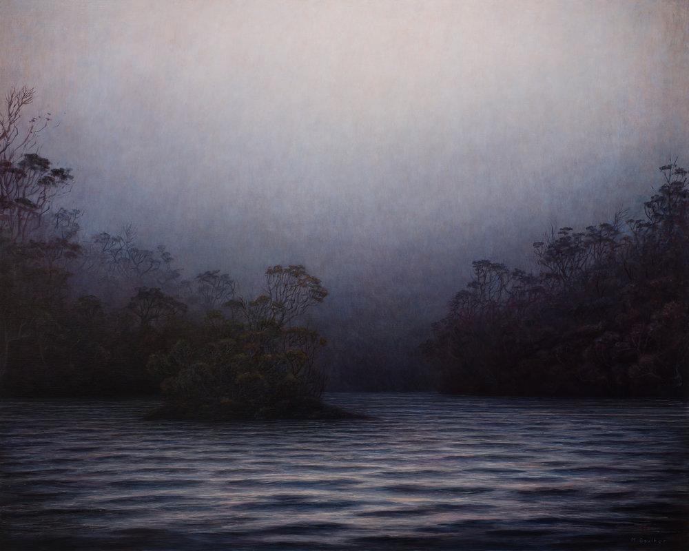 Abri,, huile sur toile, Michaye Boulter