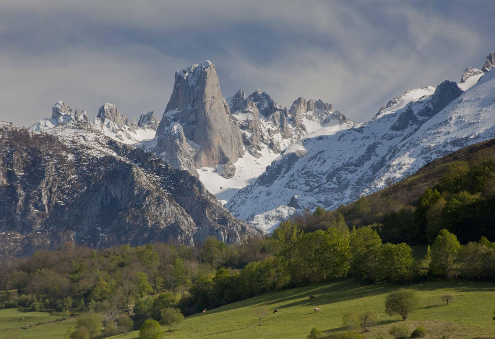 Pic Naranjo de Bulnes dans les Pics d'Europe