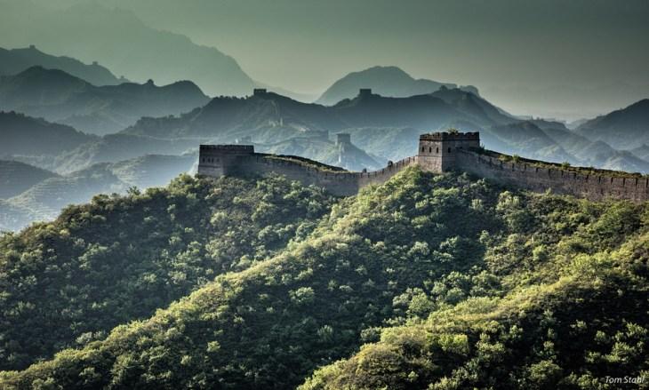 Tours de guet, Grande Muraille de Gubeikou, Chine, 2017, Tom Stahl