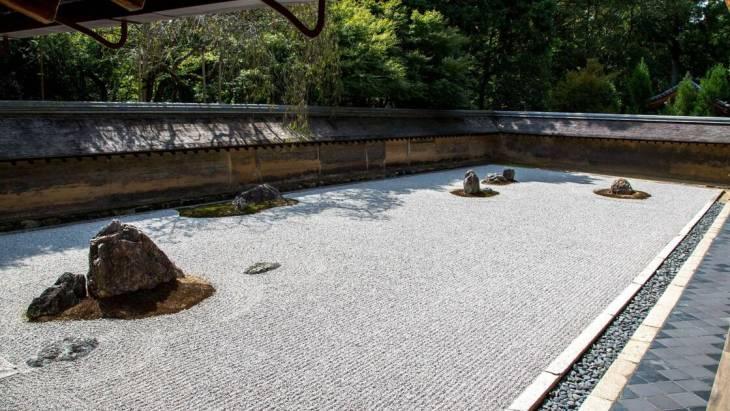 Le jardin zen du monastère Ryōan-ji