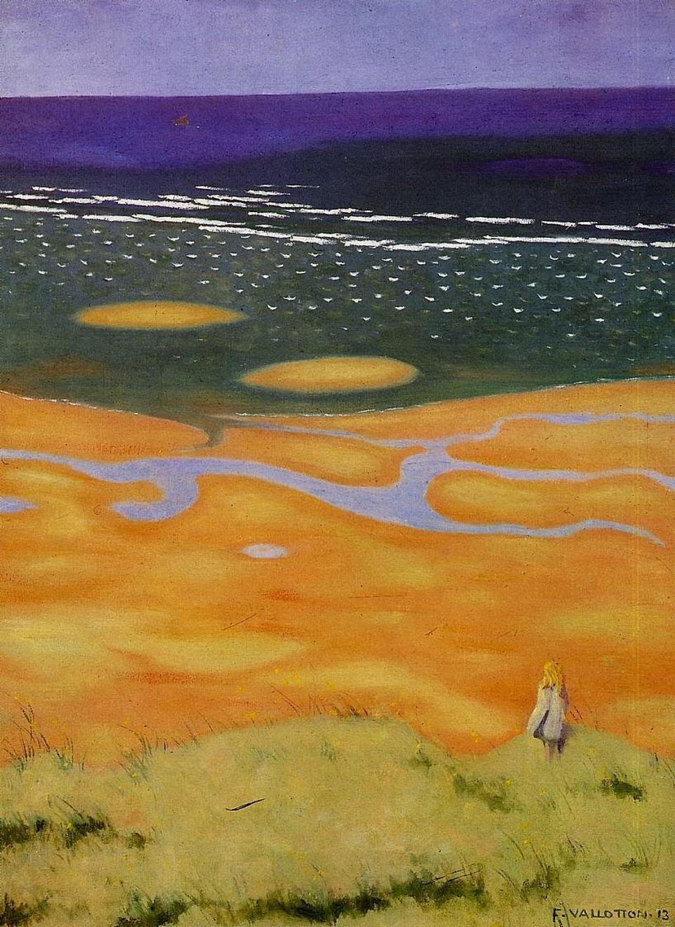 La marée naissante, 1913, Félix Vallotton (1865–1925)