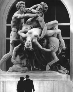 Le Combat du Centaure, 1971, photographie argentique, Robert Doisneau