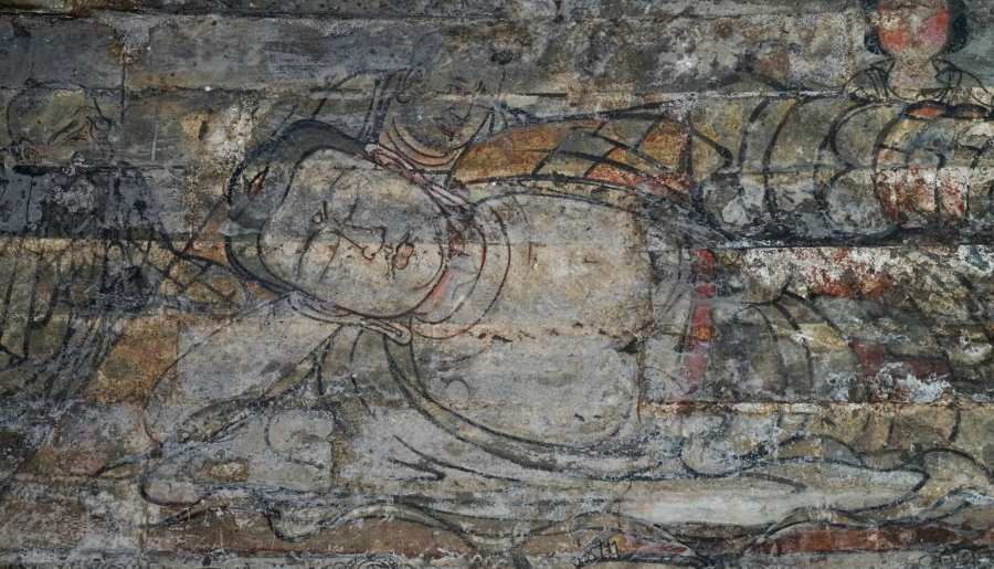Les fresques du Bouddha de la dynastie Song du Nord dans le stupa et le palais souterrain de Jingzhongyuan, Dingzhou, Hebei